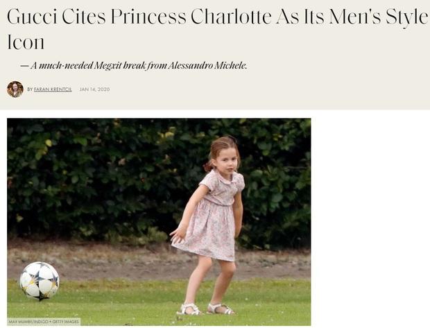 Dân tình đồn đoán Công chúa Charlotte chính là nguồn cảm hứng cho những thiết kế gây tranh cãi của Gucci - Ảnh 4.