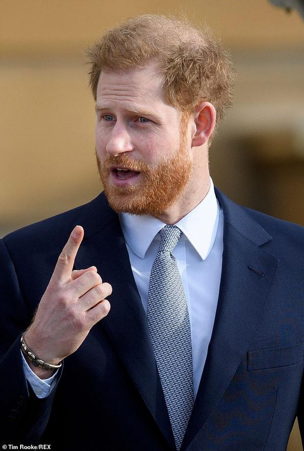 Nghiệp quật không chừa một ai: Nhiều năm trước trêu chọc anh trai thiếu tóc, Hoàng tử Harry giờ cũng đã có dấu hiệu bị hói đầu - Ảnh 1.