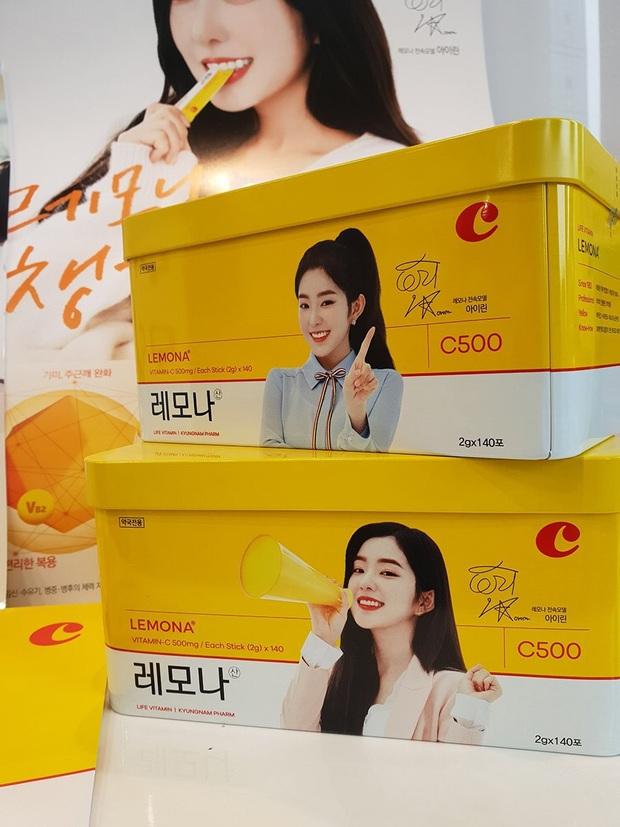 Nào chỉ riêng Jennie, Irene (Red Velvet) cũng có thành tích sold out đáng nể, có món như đồ chơi trẻ em mà fan thi nhau mua hết bay - Ảnh 7.