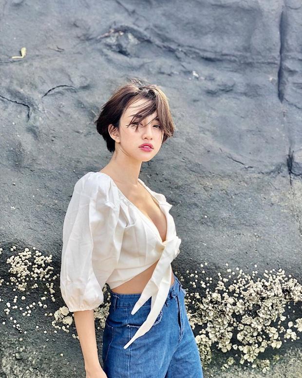 Thiên Nga dính lời nguyền tình trò - duyên cô với Minh Tú: Phong cách sexy rất hợp với Andree - Ảnh 8.