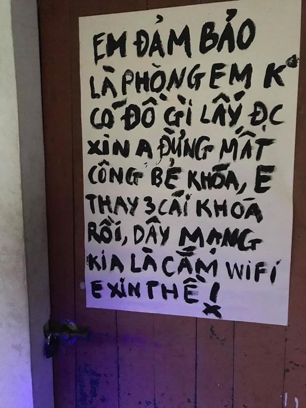 Dòng nhắn gửi kẻ trộm của cậu sinh viên trước khi về quê nghỉ Tết khiến nhiều người cạn lời: Em đảm bảo phòng em không có gì lấy được, em thề - Ảnh 2.