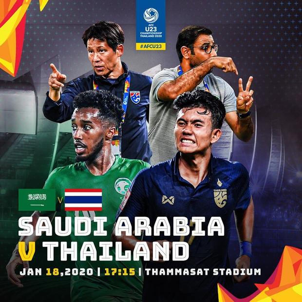 [Trực tiếp VCK u23 châu Á] Thái Lan vs Saudi Arabia: Ngóng trông đại diện cuối cùng của Đông Nam Á - Ảnh 2.