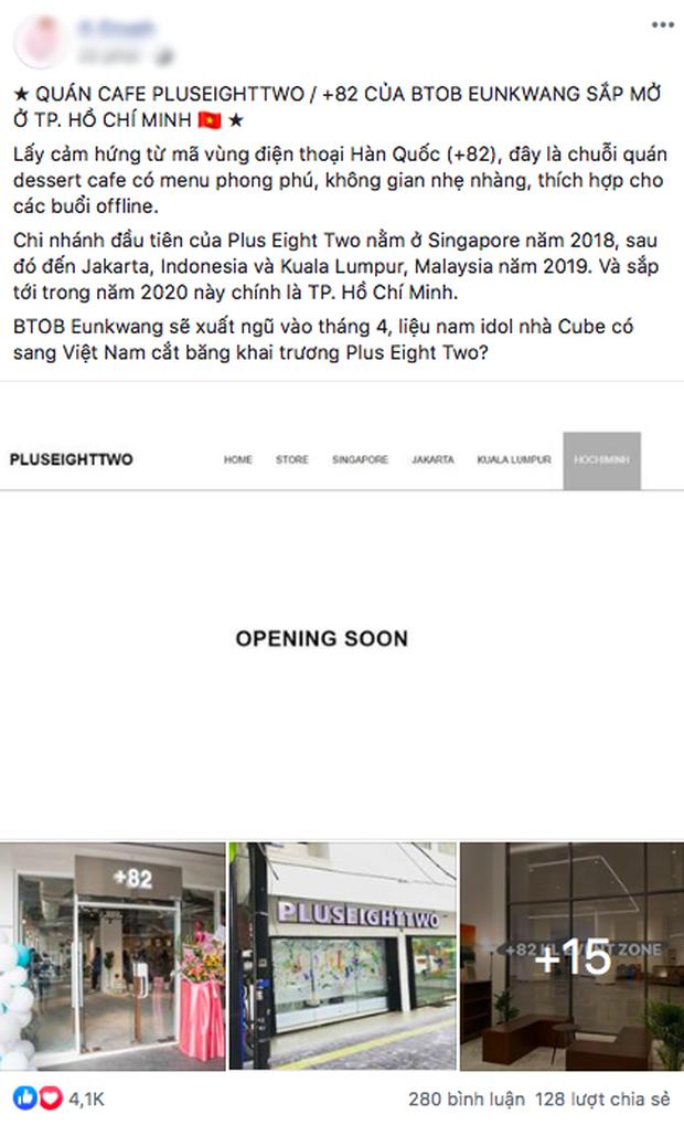 HOT: Quán cafe của sao Hàn Quốc sắp mở chi nhánh ở Sài Gòn trong năm 2020, nam idol còn sẽ xuất hiện trong buổi khai trương? - Ảnh 1.