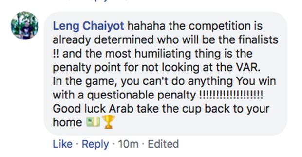 Fan Thái Lan ném đá trọng tài sau thất bại cay đắng ở tứ kết U23 châu Á: Trình độ của ông ta nhiều như số tóc trên đầu - Ảnh 3.