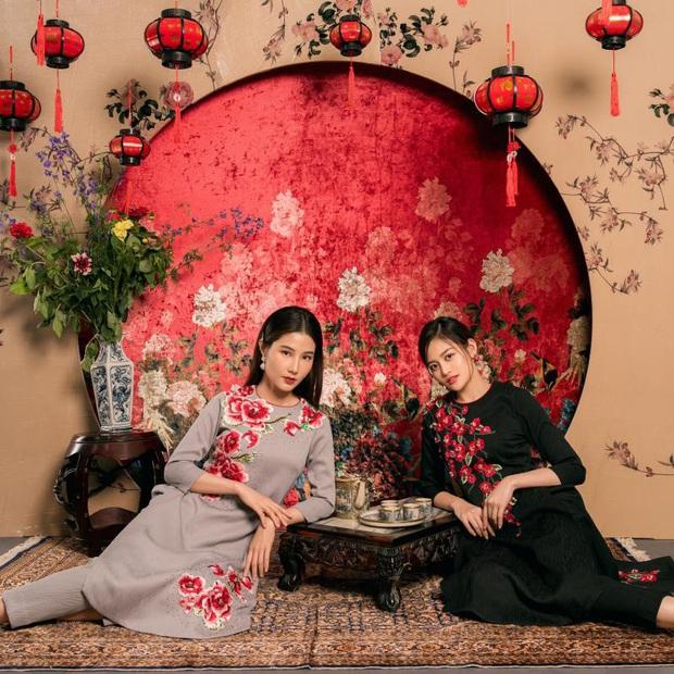 Quỳnh Nga, Diễm My và dàn mỹ nhân đình đám Hà Thành cùng nhau chúc Tết, trông rất xinh mà cái kết khó đỡ! - Ảnh 2.