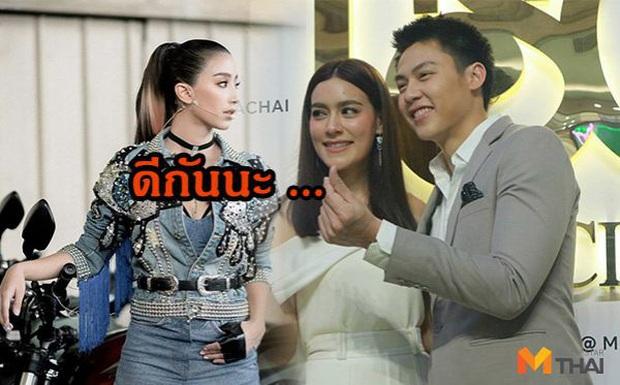 """Ảnh hot khiến MXH Thái dậy sóng: Nam thần Mark Prin chung khung hình cùng người yêu hiện tại và """"bạn gái cũ"""" từng cạch mặt nhau - Ảnh 3."""