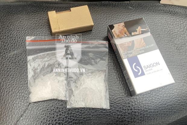 Cảnh sát 141 bắt đối tượng giấu ma túy, chở theo trẻ nhỏ - Ảnh 2.