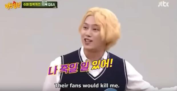 Nổi tiếng về độ chặt chém, thánh lầy Heechul cũng có lúc bị cậu em chung nhóm Super Junior gài vào thế bí! - Ảnh 6.