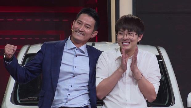 Duy Khánh - Huy Khánh trúng xe hơi gần nửa tỷ đồng trên gameshow - Ảnh 1.