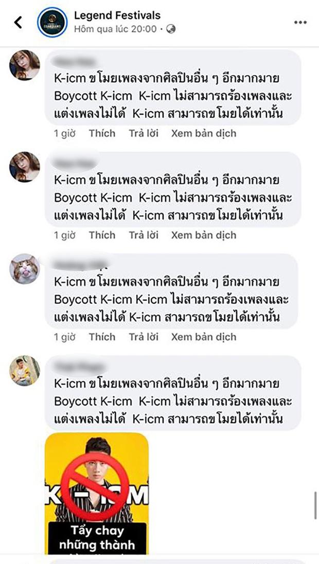 Cư dân mạng tràn vào công kích fanpage lễ hội âm nhạc quốc tế mời K-ICM biểu diễn, buộc BTC phải xoá bài đăng? - Ảnh 2.