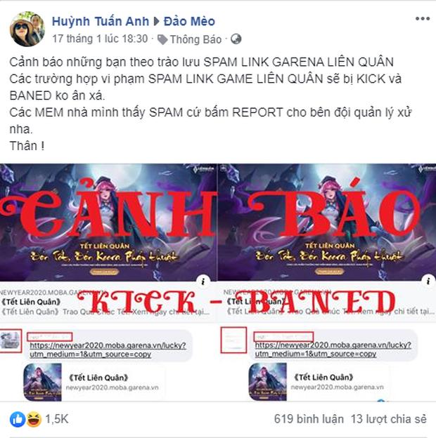 Liên Quân Mobile: Liên tục mở sự kiện share link, Garena khiến game thủ spam điên cuồng khắp Facebook - Ảnh 3.