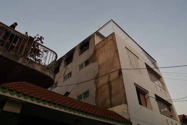 Cơ sở nuôi dạy trẻ mồ côi bốc cháy dữ dội, nhiều học viên thoát chết - Ảnh 1.