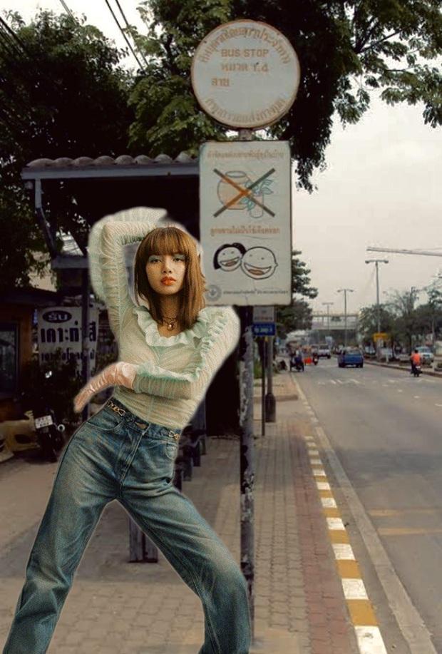 Blink đích thị là một bầu trời nhả nhớt: thấy Lisa tạo dáng lạ chụp photoshoot bèn thi nhau chế cháo cho bằng được! - Ảnh 8.