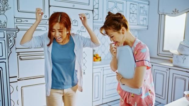 """AMEE, Huỳnh James cùng Mạc Văn Khoa chọc Puka tức điên trong MV nhạc phim """"30 Chưa Phải Tết"""" - Ảnh 6."""