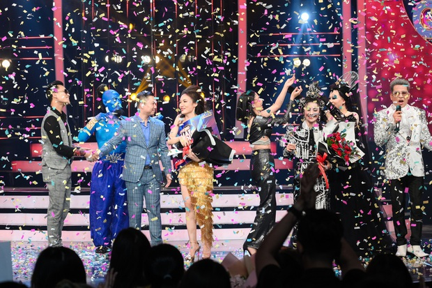 Giả 4 nữ ca sĩ hàng đầu Vpop, Nhật Thủy ẵm ngay ngôi Quán quân Gương mặt thân quen 2019! - Ảnh 2.
