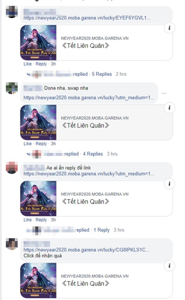Liên Quân Mobile: Liên tục mở sự kiện share link, Garena khiến game thủ spam điên cuồng khắp Facebook - Ảnh 2.