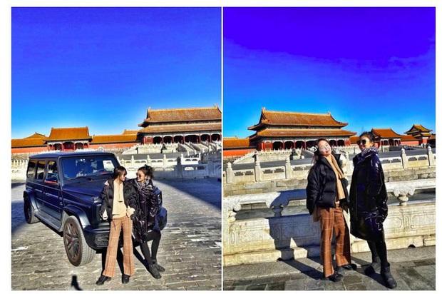 Hot girl khoe xe ở Tử Cấm Thành, con nhà giàu Trung Quốc lại lên thớt - Ảnh 1.
