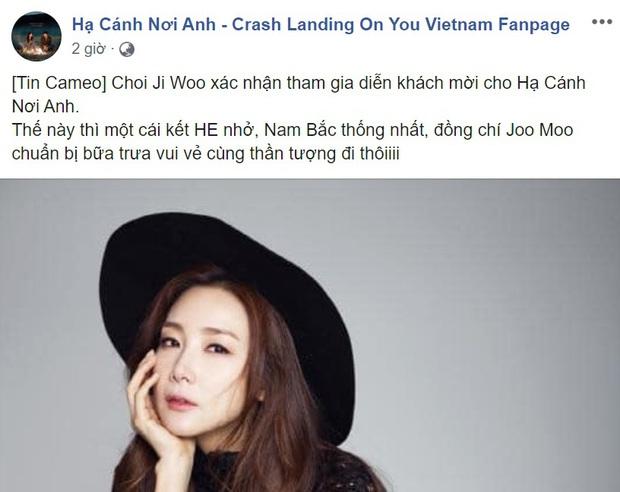 Nữ chính Bản Tình Ca Mùa Đông làm cameo ở Crash Landing On You: Chị đẹp xuất hiện trong ngày Bắc - Nam thống nhất? - Ảnh 3.