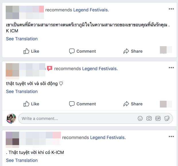 Cư dân mạng tràn vào công kích fanpage lễ hội âm nhạc quốc tế mời K-ICM biểu diễn, buộc BTC phải xoá bài đăng? - Ảnh 7.