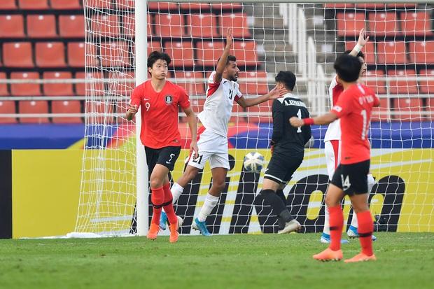 U23 Hàn Quốc vào bán kết U23 châu Á 2020 đầy kịch tính bằng siêu phẩm ở phút cuối cùng - Ảnh 6.