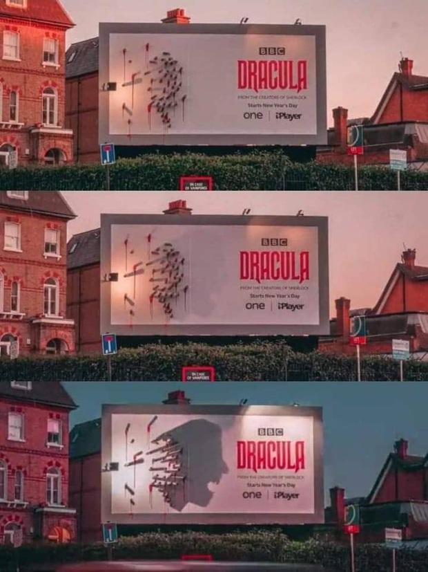 Loạt phim ăn khách vì biết chơi chiêu quảng cáo độc: Ấn tượng với con ma cà rồng về đêm của Dracula chưa các bé? - Ảnh 11.