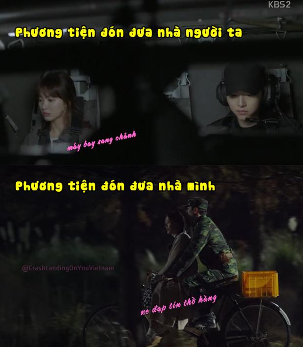 MXH rần rần cà khịa Hyun Bin (Crash Landing on You): Người ta đưa đón phi cơ ai lấy xe đạp thồ đèo gái như anh? - Ảnh 4.