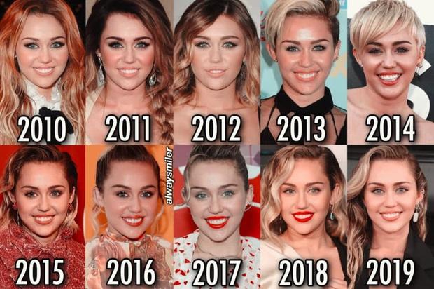 Choáng với hình ảnh 10 năm như một của Miley Cyrus: Nhìn tưởng nhân bản, đúng là thánh hack tuổi - Ảnh 1.