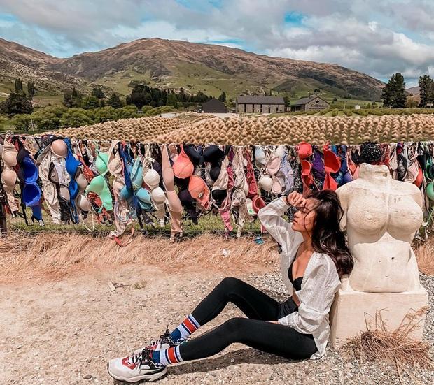 """""""Hàng rào áo ngực"""" độc nhất thế giới vô tình trở thành điểm check-in hút khách tại New Zealand, tìm hiểu nguồn gốc hình thành ai cũng ngạc nhiên - Ảnh 1."""