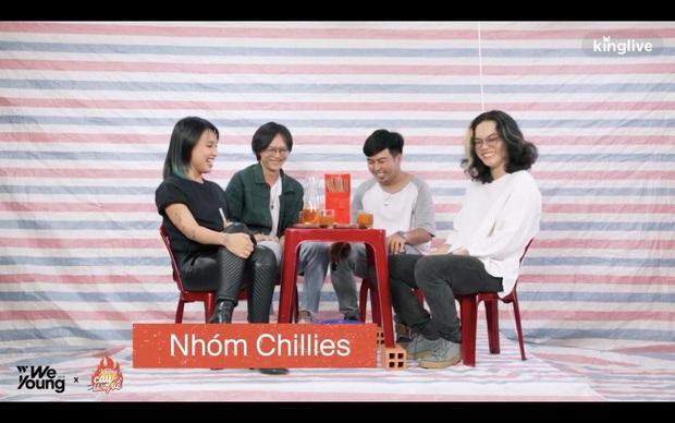 Không cay không về mùa 2: Chillies tiết lộ từng dự định kết hợp cùng Ngọt Band nhưng không thành - Ảnh 1.