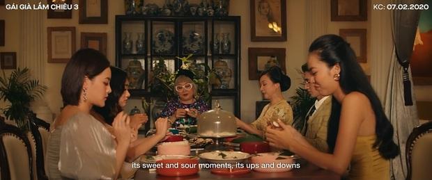 Bóc nhanh 6 chi tiết từ trailer Gái Già Lắm Chiêu 3 sao y bản chính Crazy Rich Asians: Cạn lời cảnh ngồi nặn bánh? - Ảnh 15.