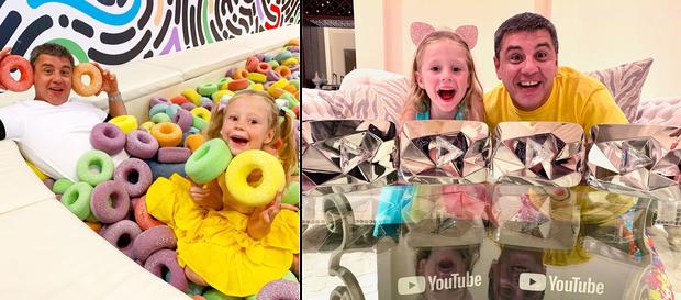 Cô bé mắc bệnh bại não kiếm 400 tỷ/năm nhờ YouTube: Làm liền 7 kênh hơn 100 triệu sub, có video suýt đạt tỷ view - Ảnh 1.