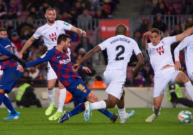Mừng thầy mới ra mắt, Messi tặng ngay một bàn thắng bằng vàng giúp Barcelona đòi lại ngôi đầu từ tay đại kình địch - Ảnh 6.
