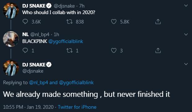 DJ Snake dội gáo nước lạnh vào cộng đồng BLINK, sẽ chẳng bao giờ có màn collab nào với BLACKPINK? - Ảnh 1.