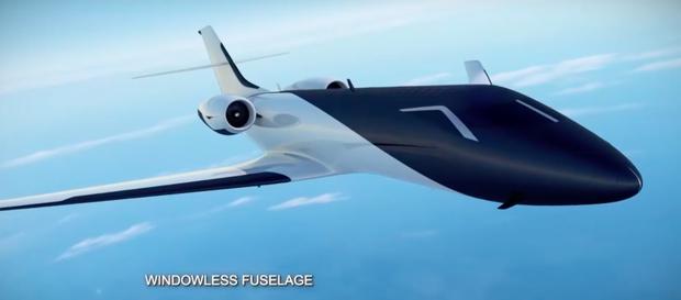 """Máy bay… """"trong suốt"""" sắp ra mắt trong tương lai, chưa biết chất lượng thế nào nhưng nhìn thôi đã muốn rớt tim ra ngoài - Ảnh 2."""
