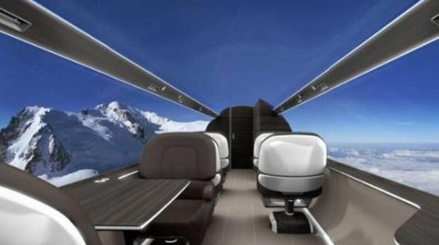 """Máy bay… """"trong suốt"""" sắp ra mắt trong tương lai, chưa biết chất lượng thế nào nhưng nhìn thôi đã muốn rớt tim ra ngoài - Ảnh 10."""
