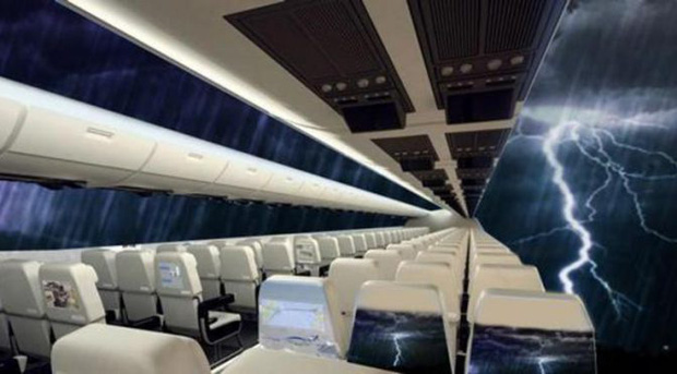 """Máy bay… """"trong suốt"""" sắp ra mắt trong tương lai, chưa biết chất lượng thế nào nhưng nhìn thôi đã muốn rớt tim ra ngoài - Ảnh 9."""
