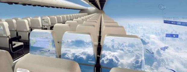 """Máy bay… """"trong suốt"""" sắp ra mắt trong tương lai, chưa biết chất lượng thế nào nhưng nhìn thôi đã muốn rớt tim ra ngoài - Ảnh 4."""