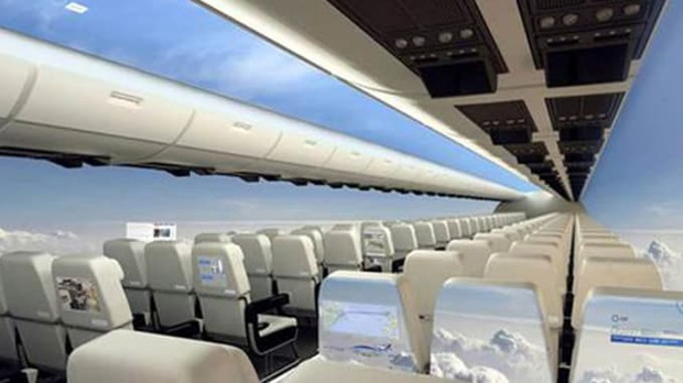 """Máy bay… """"trong suốt"""" sắp ra mắt trong tương lai, chưa biết chất lượng thế nào nhưng nhìn thôi đã muốn rớt tim ra ngoài - Ảnh 8."""