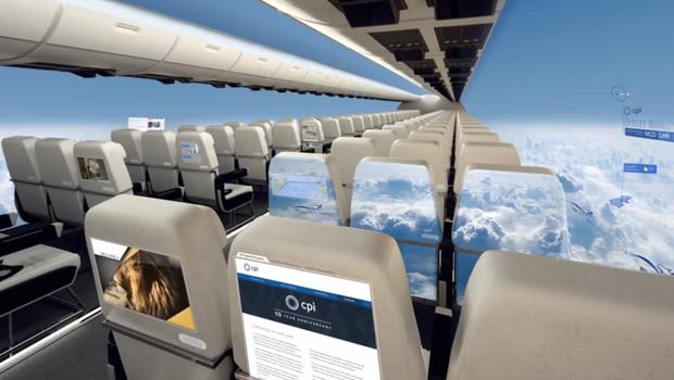 """Máy bay… """"trong suốt"""" sắp ra mắt trong tương lai, chưa biết chất lượng thế nào nhưng nhìn thôi đã muốn rớt tim ra ngoài - Ảnh 3."""
