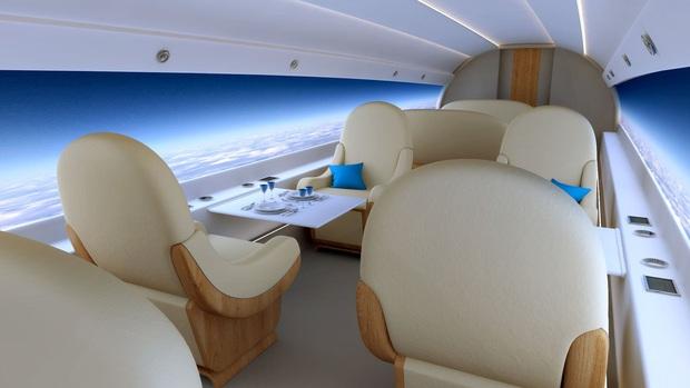 """Máy bay… """"trong suốt"""" sắp ra mắt trong tương lai, chưa biết chất lượng thế nào nhưng nhìn thôi đã muốn rớt tim ra ngoài - Ảnh 7."""