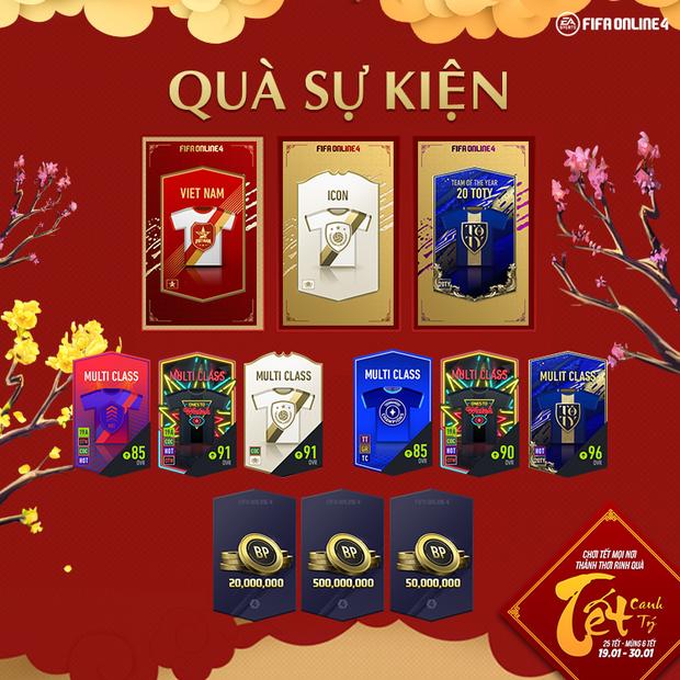 FIFA Online 4: Garena chơi lớn trong sự kiện Tết, game thủ rộn ràng khoe quà tết giá trị! - Ảnh 2.
