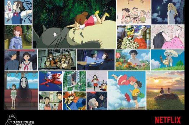 21 kiệt tác anime của Studio Ghibli đổ bộ Netflix, có cả Vô Diện và hàng xóm Totoro siêu cưng - Ảnh 2.