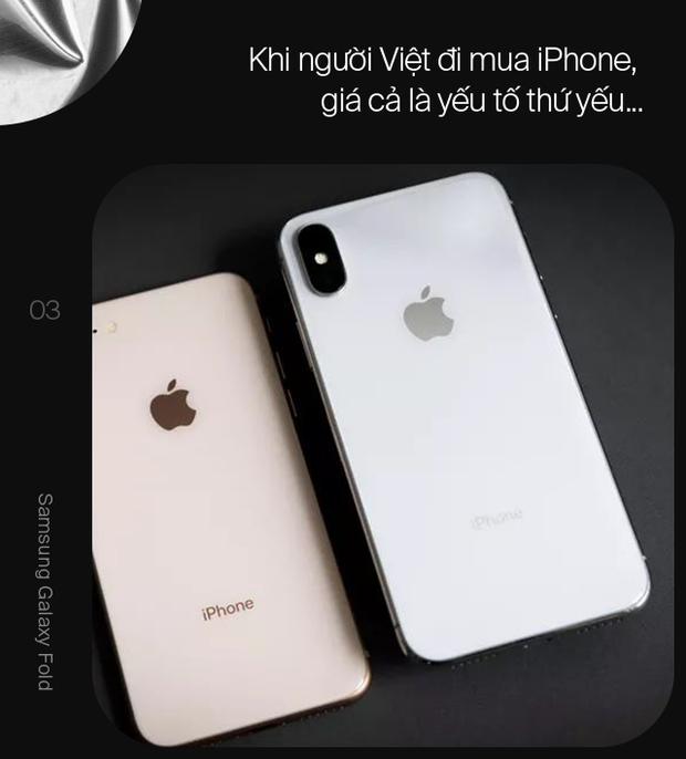 Nghịch lý iPhone tại Việt Nam và vì sao Galaxy Fold có thể là chìa khóa giúp Samsung vươn lên làm chủ phân khúc cao cấp - Ảnh 3.