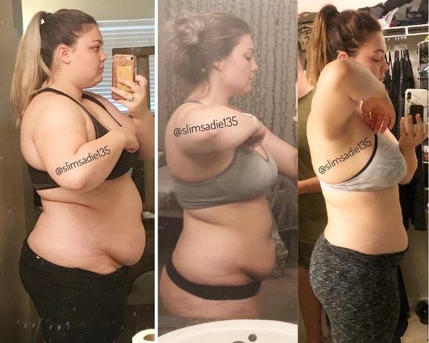 Thán phục trước hành trình lội ngược dòng giảm cân ngoạn mục của nàng béo Mỹ 121kg với sức ăn bằng 4 người cộng lại - Ảnh 5.