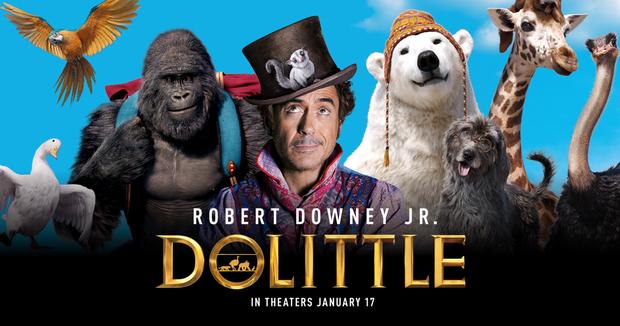 Dolittle - phim tái xuất của Iron Man Robert Downey Jr. có thể lỗ đến trăm triệu đô? - Ảnh 1.