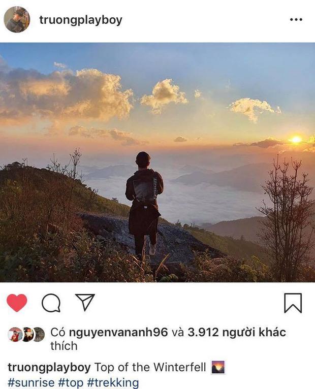 Xuân Trường khoe ảnh đi leo núi, săn mây khiến fan vừa mừng vừa lo - Ảnh 1.