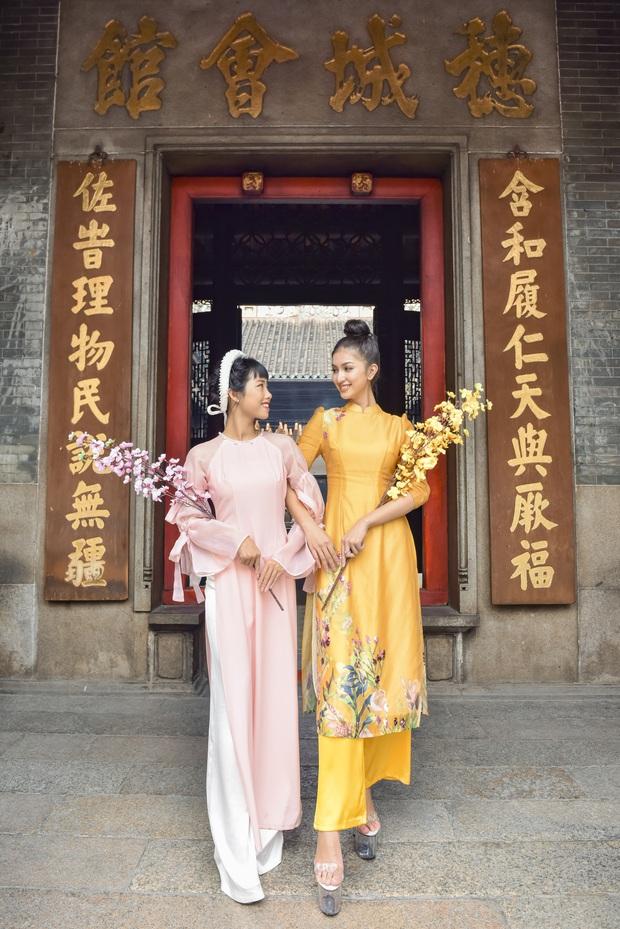 Dàn thí sinh Vietnams Next Top Model mùa 9 ấn tượng trong shoot hình Tết 2020! - Ảnh 3.