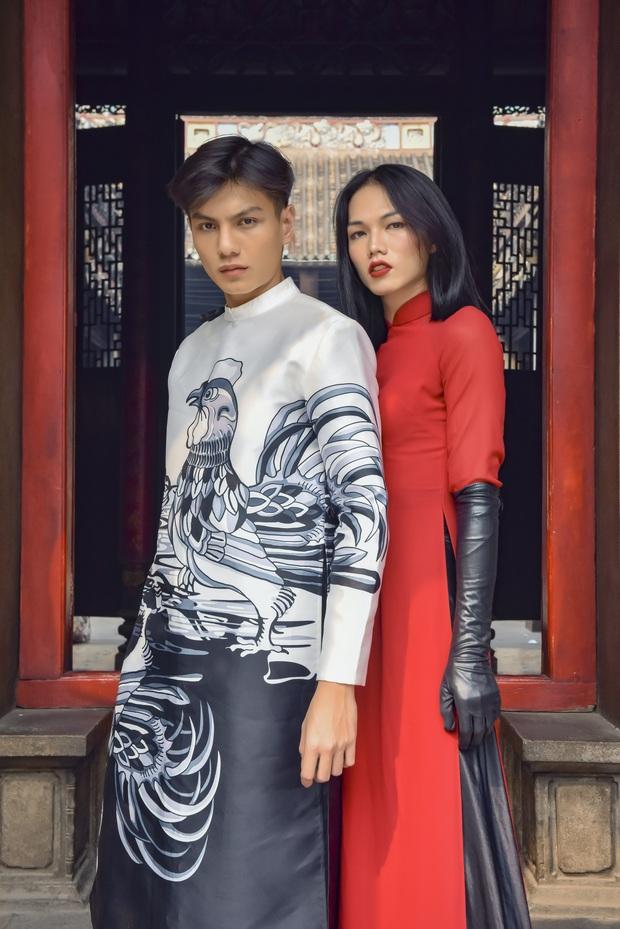 Dàn thí sinh Vietnams Next Top Model mùa 9 ấn tượng trong shoot hình Tết 2020! - Ảnh 6.