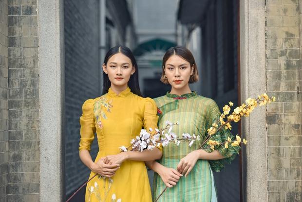 Dàn thí sinh Vietnams Next Top Model mùa 9 ấn tượng trong shoot hình Tết 2020! - Ảnh 4.
