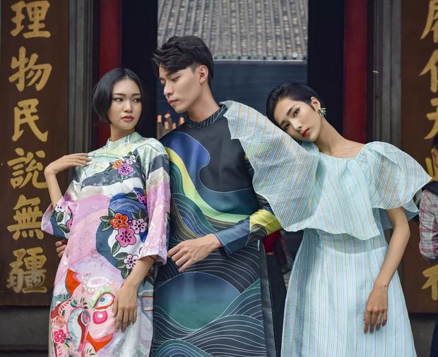 Dàn thí sinh Vietnams Next Top Model mùa 9 ấn tượng trong shoot hình Tết 2020! - Ảnh 5.